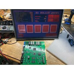 Pot o Gold kit ( Board, touch screen monitor and conversion board)