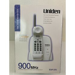 Kyпить Uniden 900Mhz Extended Range w/One Touch Rocketdial EXP 370 NEW In The Box на еВаy.соm