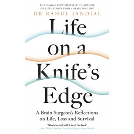 img-Jandial, Dr Rahul-Life On A Knife`S Edge BOOKH NEW