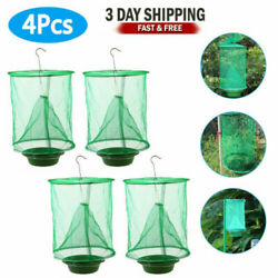 4 pcs The Ranch Fly Trap Outdoor Fly Trap Killer Bug Cage Net Perfect For Horses