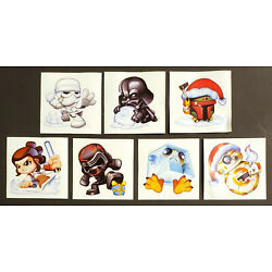 Star Wars Stickers 2019 Micro Force Advent Calendar Exclusives Lot of 7 New