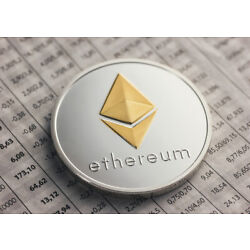 ETH Ethereum Coin Crypto Currency Collector Silver Gold Crypto Miner Collection