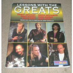 Drum Lessons With Greats Book &CD Terry Bozzio Dave Weckl Pete Erskine  Xepoleas