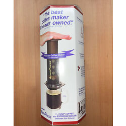 Aeropress Coffee and Espresso Maker - Makes 1-3 Cups of Delicious Coffee Wit