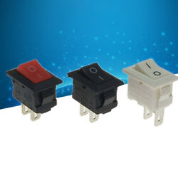 Mini 1pc / Los  10*15mm 2Pin ON/OFF Boat Rocker Switch Car Truck Button Swh3