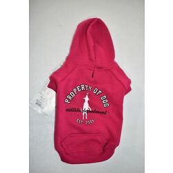 Dog is Good  Pink Hoodie Sweater Size XS