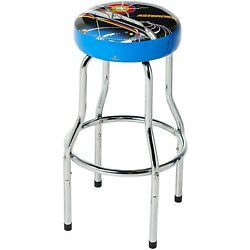 Asteroids Arcade Cabinet Adjustable Gaming Bar Stool Foam Padded Seat Chair