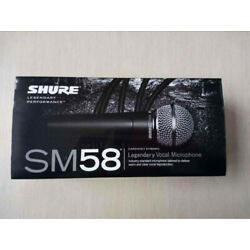 Brand New Shure SM58S Vocal Dynamic Microphone Mic With On Off Switch