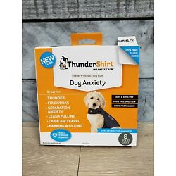 Thundershirt Dog S Small 15-25lbs Solid Gray Best Solution for Anxiety C7