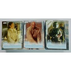 2021 Topps Star Wars Battle Plans GALACTIC ADVERSARIES Inserts (Pick Your Own)