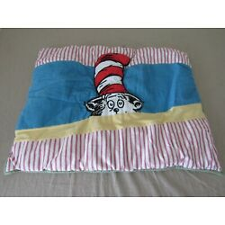 Pottery Barn Kids Dr. Seuss Cat In The Hat Quilted Standard Pillow Sham Cover
