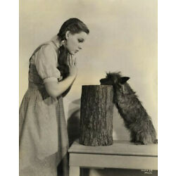 RARE Judy Garland and Toto Wizard of Oz behind the scenes set 8x10 photo