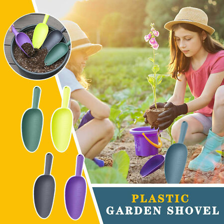 img-Home gardening tools plastic soil shovels lights weight and durable WIDELY uk