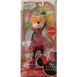 Jakks Pacific~Disney Minnie Mouse  Island Icon  9 Inch New Poseable Doll