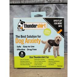 Thundershirt for Dog Anxiety Small Solid Gray D3