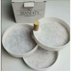 The 2 Bandits 3 Tiered Catchall Tray, New