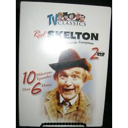 2 DVD RED SKELTON AMERICA'S FAVORITE FUNNYMAN 10 EPISODES OVER 6 HOURS NEW