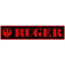 Ruger Firearms Logo Sticker Decal 5 inch