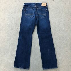 Abercrombie & Fitch The A&F Boot Cut Bootcut Men's Jeans Size 28x30 Button Fly