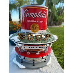 Department 56 Snow Village Campbells ''Campbell's Soup Counter'' Retired Boxed!