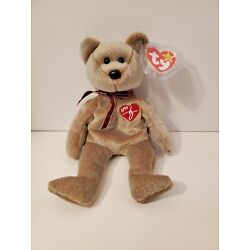 Ty Beanie Baby 1999 Signature Bear with Tag (Mint condition)