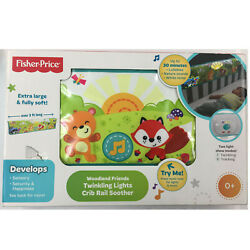 Fisher-Price Woodland Friends Twinkling Lights Crib Rail Soother