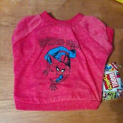 Marvel Comics Spiderman Dog T-Shirt Small - NEW with Tags