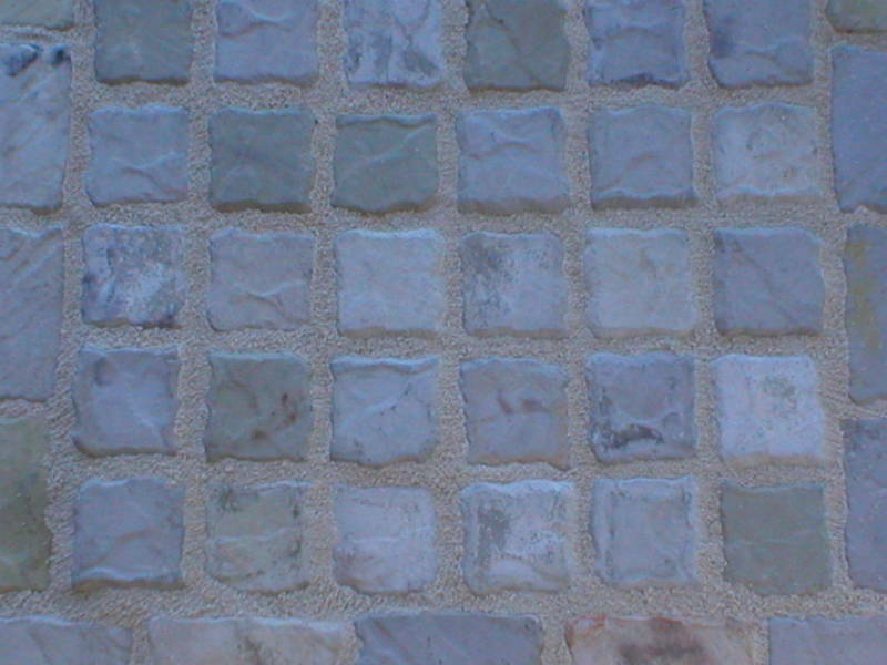 12 MOLDS MAKE 4x4 COBBLE STONE PATIO PAVERS & TILES FOR ...