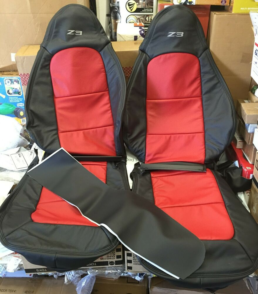 1996 2002 Bmw Z3 Leather Upgrade Kit Seat Covers Ebay
