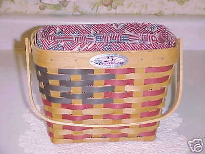 Gift Basket For 25th Wedding Anniversary : Longaberger 25th Anniversary Basket eBay