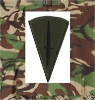 OFFICIAL COMMANDO DAGGER SUBDUED QUALIFICATION BADGE