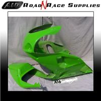 ZX7R GREEN A16 RACE FAIRING & SEAT Brand New Bodywork with Dzus Fasteners Fitted