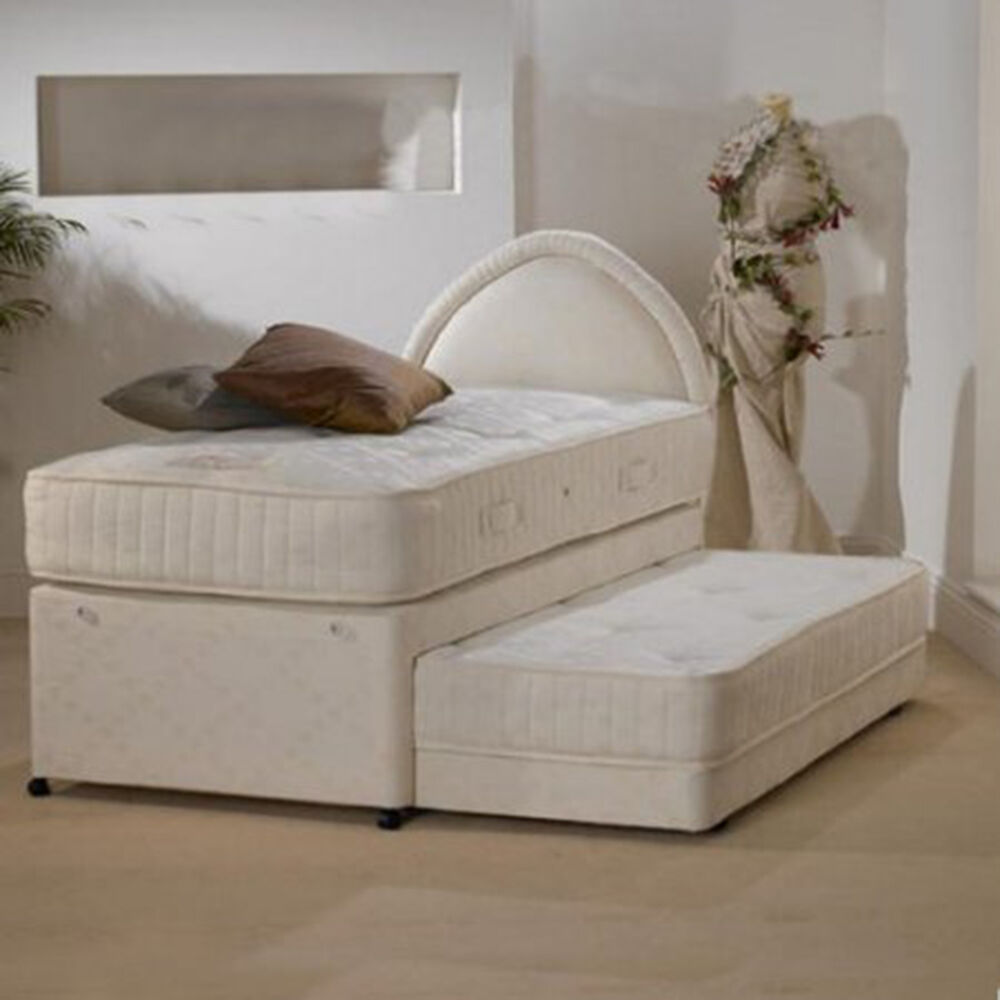 Quality 3ft single 3 in 1 rhapsody guest bed next day ebay for Good quality single beds