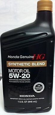honda genuine 5w 20 motor oil 12 by exxon mobil ebay