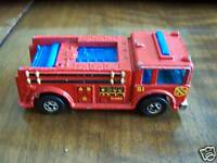 1977 HOT WHEELS FIRE EATER BLACKWALLS