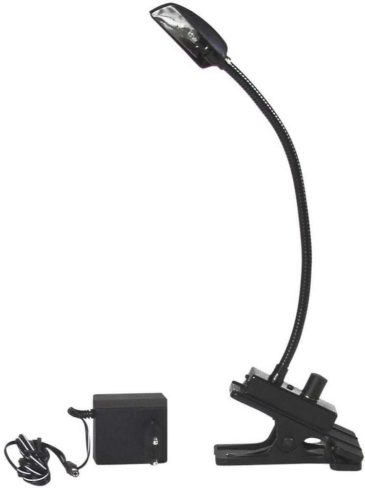 flexilight mit klemme mixerleuchte schwanenhals lampe 12v 5w halogen eurolite ebay. Black Bedroom Furniture Sets. Home Design Ideas