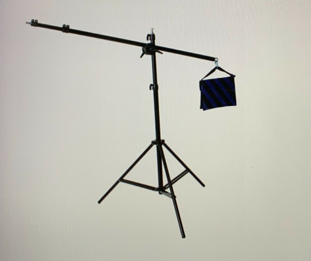 Pro Heavy Duty Photo Video Combo BOOM & Light Stand 501