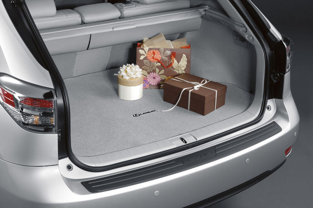 2010 2015 lexus rx350 black carpet cargo mat ebay. Black Bedroom Furniture Sets. Home Design Ideas