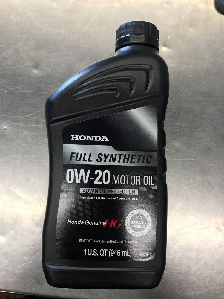 HONDA GENUINE 0W-20 MOTOR OIL (12) | eBay