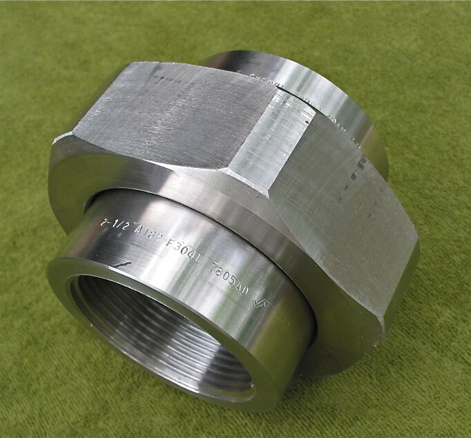 Quot pipe orifice union stainless steel a f l