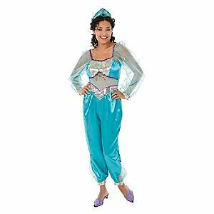 Disney Princess Jasmine Aladdin Adult Costume + Crown | eBay