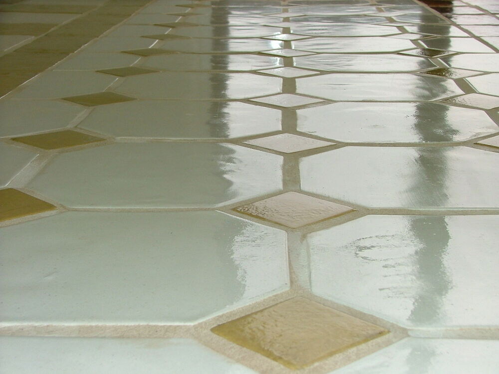 3 12x12 octagon tile moulds craft 100s of floor patio for Floor cement tiles