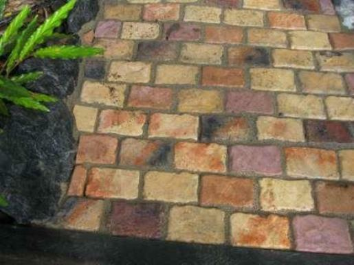 6 Concrete Cobblestone Molds Make 100s Of 4x6x1 5 Quot Pavers