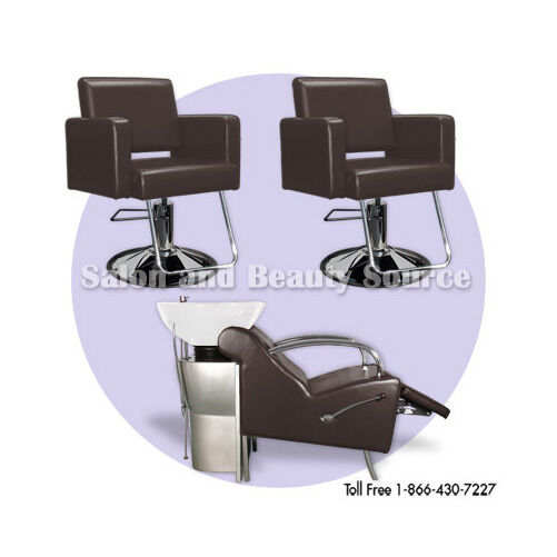 Salon package beauty styling chairs equipment furniture ebay for Beautician furniture