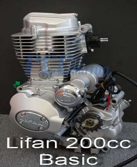 V Twin Quad Engine: LIFAN 200CC 5 SPD ENGINE MOTOR MOTORCYCLE DIRT BIKE ATV M