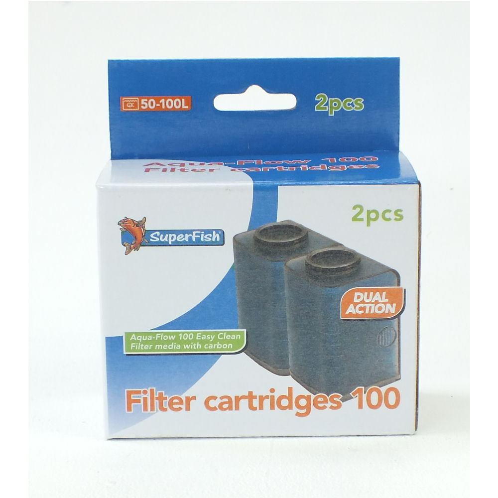 super fish aqua flow 100 aquarium filter cartridges ebay