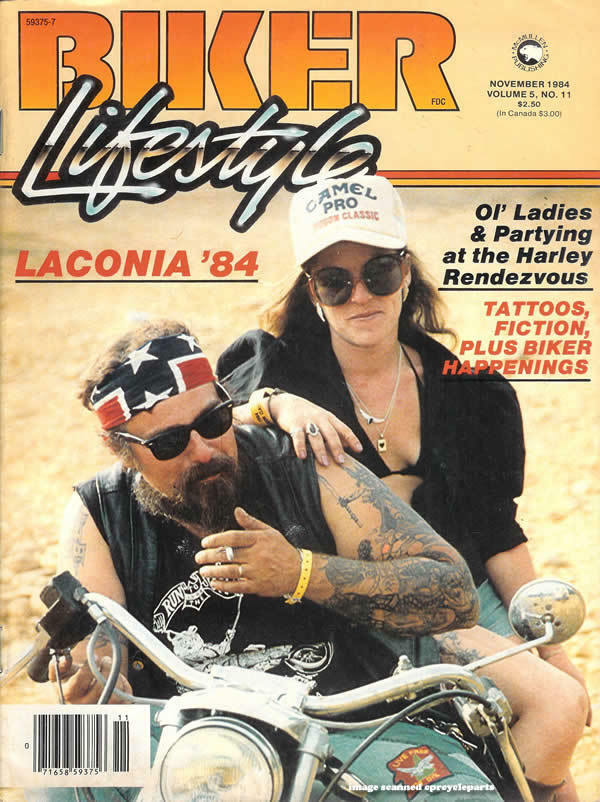 *RARE* NOVEMBER 1984 BIKER LIFESTYLE MAGAZINE