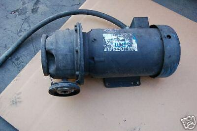 Baldor Motor Sanitary Water 5 Hp Stainless Steel Pump