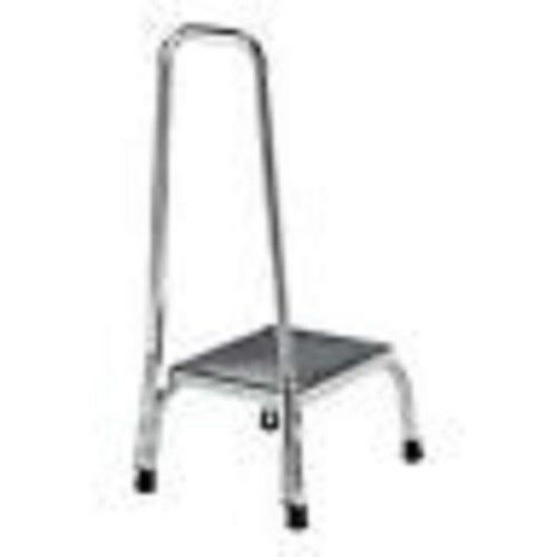 Safety Step Up Foot Stool With Hand Rail Ebay