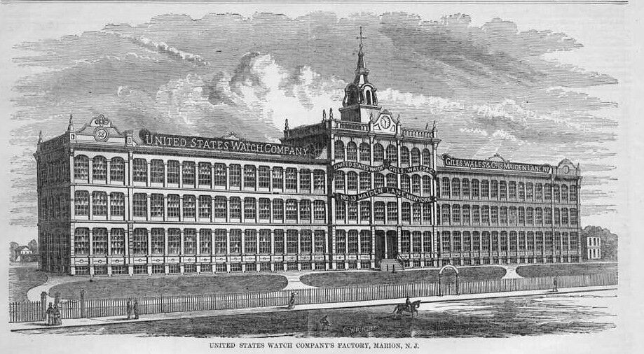 Marion (IN) United States  City new picture : UNITED STATES WATCH COMPANY FACTORY IN MARION NEW JERSEY HISTORY ...